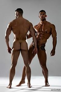 Jonathan Guijarro and Vladimir Ernesto Moran naked
