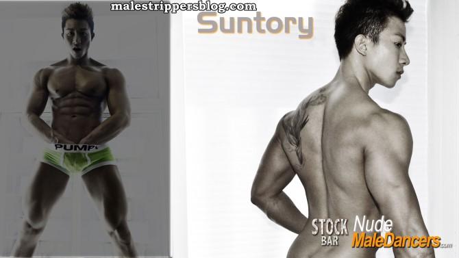 muscle asian male stripper