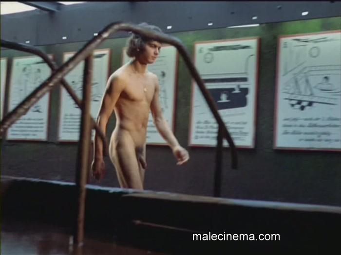 nude guy walking