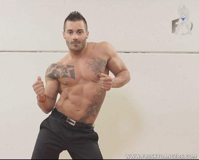 seducing stripper