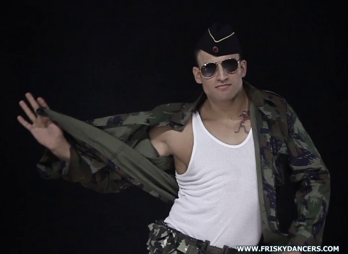 military stripper