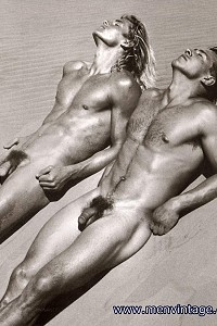 Beautiful hunks naked