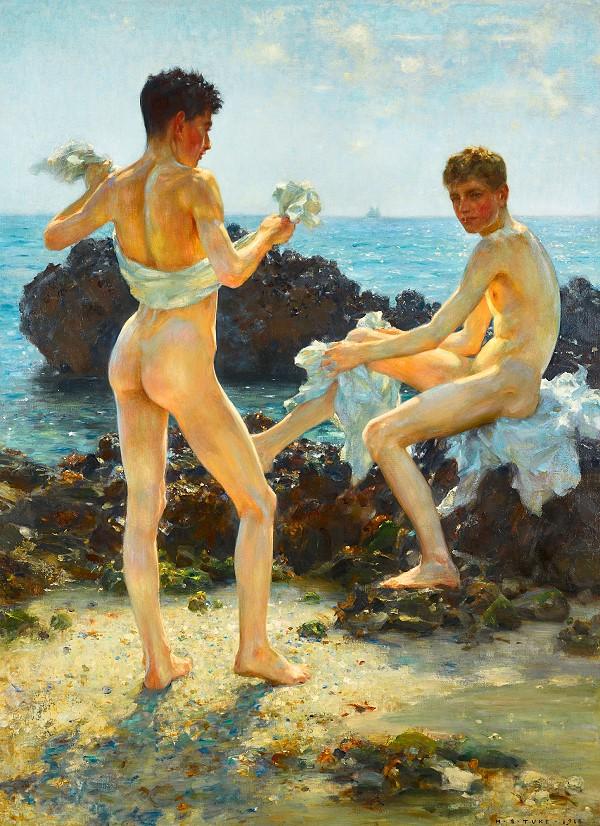 naked guys art