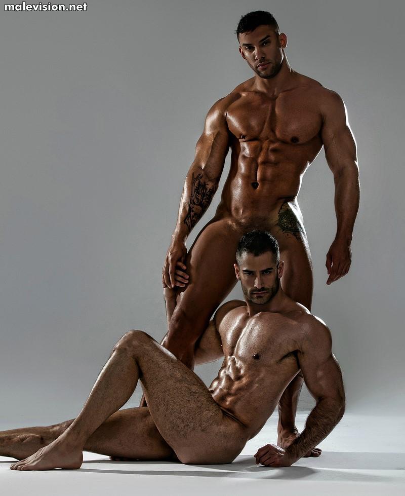 Jonathan Guijarro & Vladimir Ernesto Moran naked