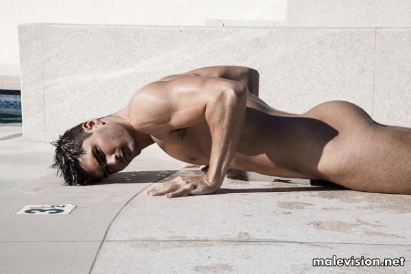 Charlie Matthews male fitness model