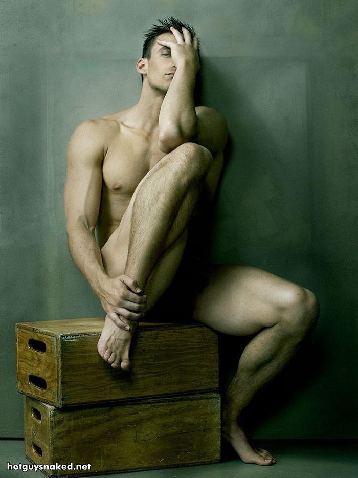 hot naked man