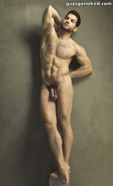 naked man david vance