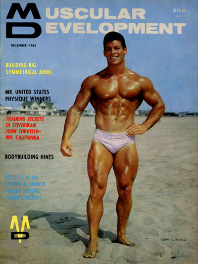 John Corvello in Muscular Development