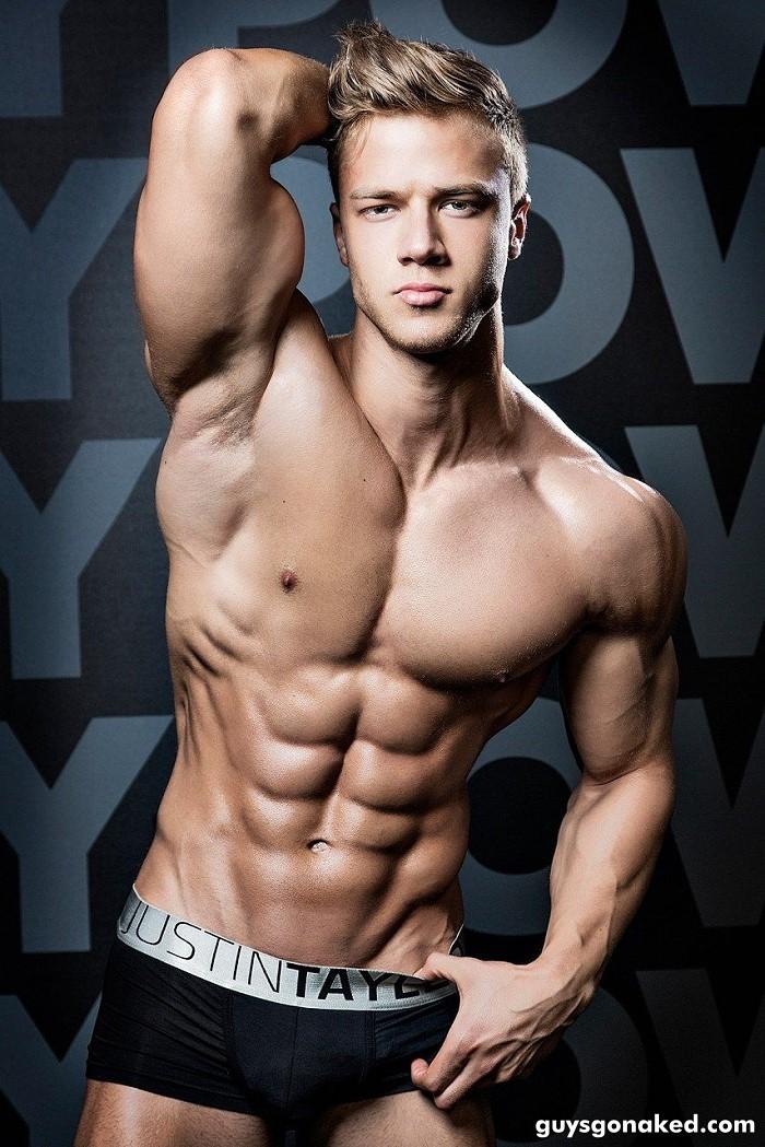 Attila Toth male model