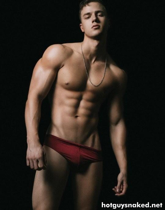 Attila Toth hungarian male fitness model