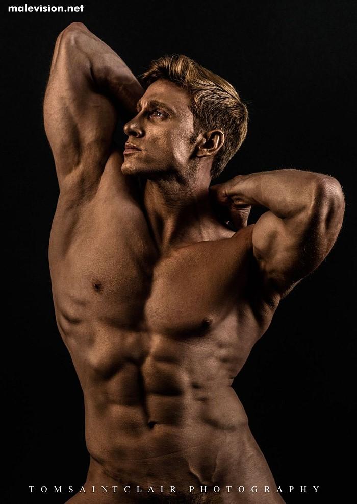 Davide Zongoli naked by Tom Saint Clair