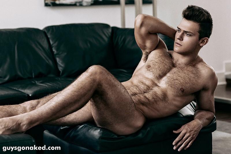 Ben Todd hairy male model