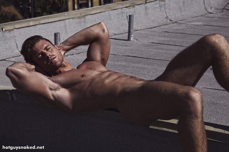 Steven Dehler naked outdoors